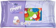 Дитячі вологі серветки Happy Збагачені вітаміном Е 64 шт.