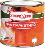 Лак паркетний поліуретановий Khimrezerv PRO глянець 0,75кг