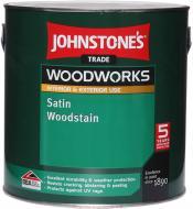 Пропитка (антисептик) Johnstone's Satin Woodstain полумат бесцветный 5 л