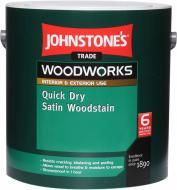 Пропитка (антисептик) Johnstone's Quick Dry Satin Woodstain полумат бесцветный 0,75 л