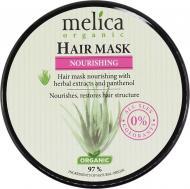 Маска для волос Melica Organic с растительными экстрактами и пантенолом 350 мл