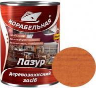 Лазурь КОРАБЕЛЬНАЯ с УФ-фильтром орех глянец 0,75 л
