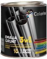 Эмаль-грунт COLORINA 3в1 белый глянец 2,5л