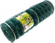 Сітка загороджувальна Клевер Огорожа 1х20 м 85х95 мм темно-зелена