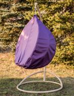 Чехол Украинские конструкции на кресло-кокон фиолетовый