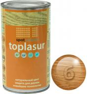 Лазурь Spot Colour Toplasur №6 дуб полуглянец 0,4 л