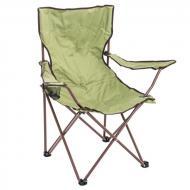 Стул раскладной туристический с чехлом Underprice DES102 54х54х92 см Зеленый