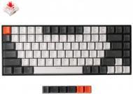 Клавіатура Keychron K2 84 keys USB BT Gateron Red Hot-Swap White LED (A1H_KEYCHRON) black/white
