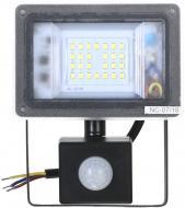 Прожектор Expert Light NC-F20-PIR 20 Вт IP65 чорний
