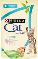 Корм Purina Cat Chow Kitten з індичкою і цукіні в желе 85 г