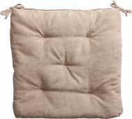 Подушка на стілець Велмарт 40х40х3 см пісочна