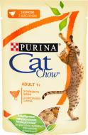 Корм Purina Cat Chow Adult 1+ з куркою та цукіні в желе 85 г