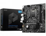 Материнська плата MSI H510M PRO (Socket 1200, Intel H510, mirco ATX)
