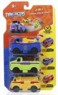 Іграшка-трансформер Transracers машинки 2-в-1 Будівельний транспорт YW463878
