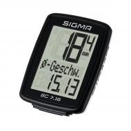 Велокомпютер Sigma Sport BC 7.16 Black (SD07160)