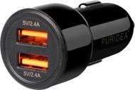 Автомобільний зарядний пристрій PURIDEA CC02 Dual Fast Charge