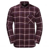 Рубашка Jack Wolfskin FRASER ISLAND SHIRT 1402522-7807 р. S бордовый