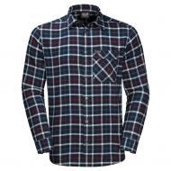 Рубашка Jack Wolfskin FRASER ISLAND SHIRT 1402522-7881 р. L темно-синий