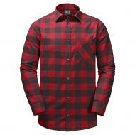 Рубашка Jack Wolfskin RED RIVER SHIRT 1402551-7489 р. S красный