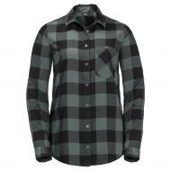 Рубашка Jack Wolfskin HOLMSTAD SHIRT 1402722-7642 р. S зеленый