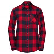 Рубашка Jack Wolfskin HOLMSTAD SHIRT 1402722-7989 р. S красный