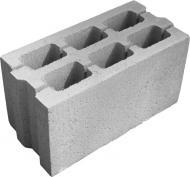 Блок бетонний ЗОЛОТОЙ МАНДАРИН Квадра 390x190x190 мм