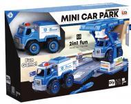 Ігровий набір DIY Spatial Creativity Конструктор Поліцейська машина і Кран CJ-1614195
