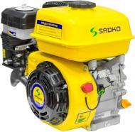 Двигун бензиновий Sadko GE-200 PRO з шліцевим валом, повітряним фільтром у масляній ванні