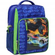 Рюкзак шкільний Bagland Школяр Супер синій (0012870)