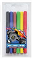 Набір фломастерів Monster Truck 6 кольорів 650454 1 вересня
