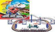 Залізниця LiXin з поїздом і машинкою 9916