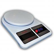 Весы кухонные электронные до 7 кг Good Idea (SF-400) Белый (hub_Ifkn17166)