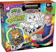 Набір для творчості Danko Toys My Color BagPack рюкзачок-розмальовка (5) в асортименті CВР-01-01, 02, 03,04,05