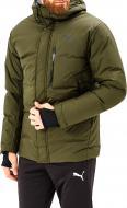 Куртка Puma Protect 650 Hooded Down Jkt р. M зеленый 85164615