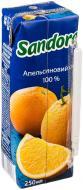 Сік Сандора Апельсин 250 мл