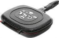 Сковорода-гриль двусторонняя 32 см прямоугольная TurboGrill