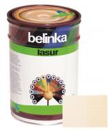 Краска-лазурь Belinka Lasur 11 белый мат 1 л