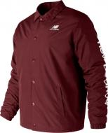 Куртка New Balance WINTER COACHES р. M бордовый MJ83511NBY