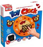 Набір для творчості Strateg Toy Clock Ведмежа