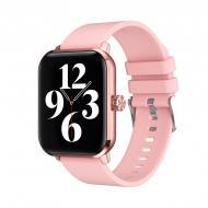 Умные часы с измерением давления Lemfo HW23 Розовый