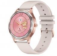 Умные часы с измерением кислорода в крови NO.1 DT86 Silicone  Розовый