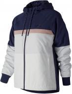 Куртка New Balance NB ATHLETICS 78 р. S сине-белый WJ83559PGM