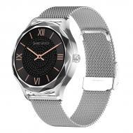 Смарт-часы NO.1 DT86 Silver (тонометр, пульсоксиметр)