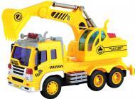 Екскаватор Dave Toy Junior Trucker зі світлом та звуком 28 см 1:16 23036