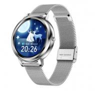 Смарт-часы LEMFO MK20 Silver (тонометр, пульсометр, оксиметр)