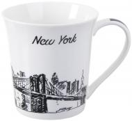 Чашка Travels NY 380 мл фарфор Fiora