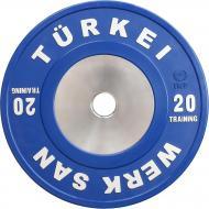 Диск для грифа Werksan DTRA042 Tranining 20 кг