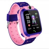 Детские Смарт Часы Smart Baby Watch Q12 SIM /Bluetooth /LBS/GPS Розовый