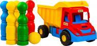 Вантажівка Wader Multi truck з кеглями 39220