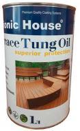 Масло тунговое Bionic House для террас Terrace Tung Oil прозрачный 1 л
